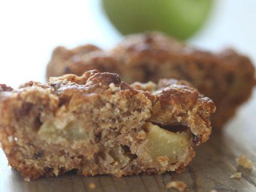 עוגת תפוחים ושוקוצ'יפס