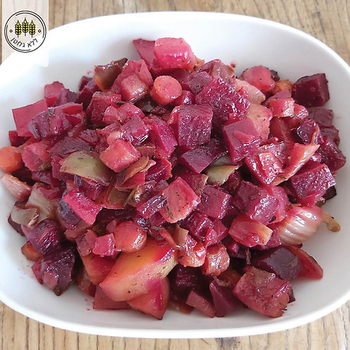 ירקות אפויים בבלסמי וטימין