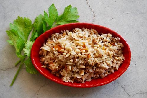 מנסף - תבשיל אורז ופתיתי סויה בסגנון ערבי