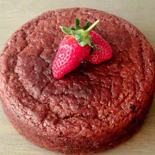 עוגת תותים בחושה