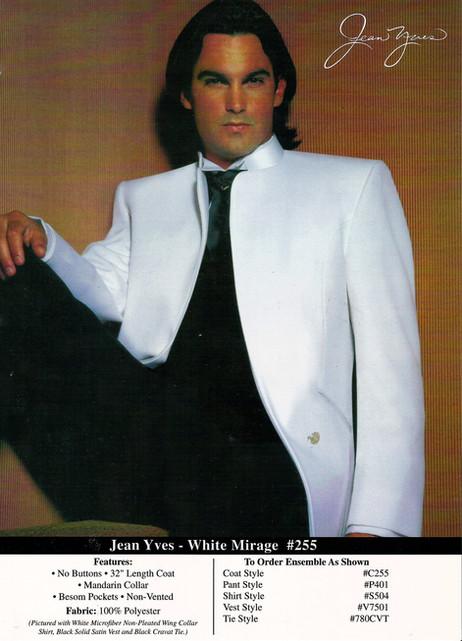 Jean Yves •  White Mirage