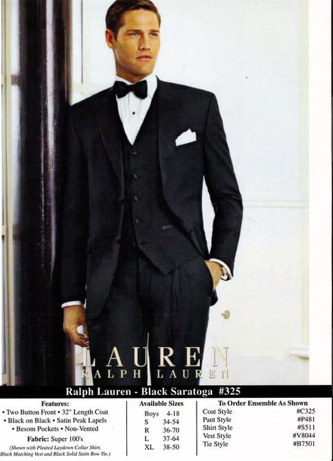Ralph Lauren - Black Saratoga #325