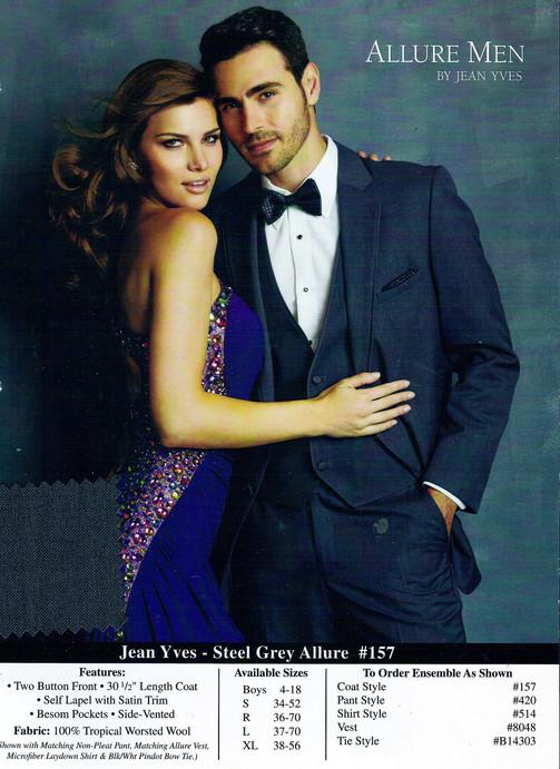Jean Yves - Steel Grey Allure #157
