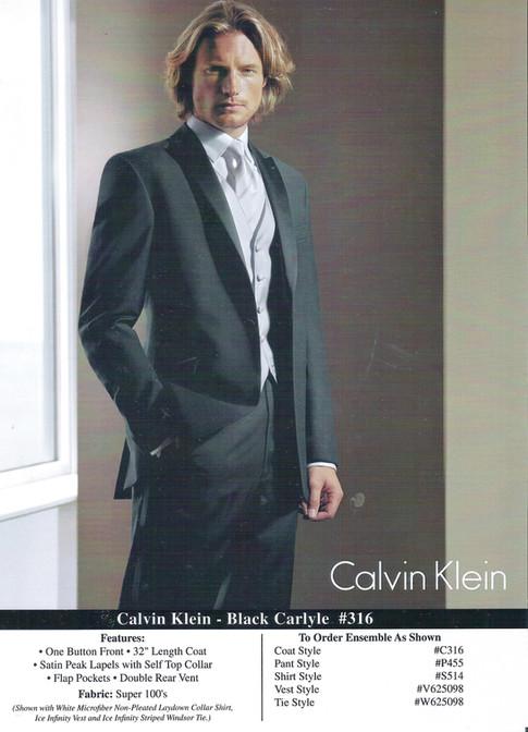 Calvin Klein - Black Carlyle #316