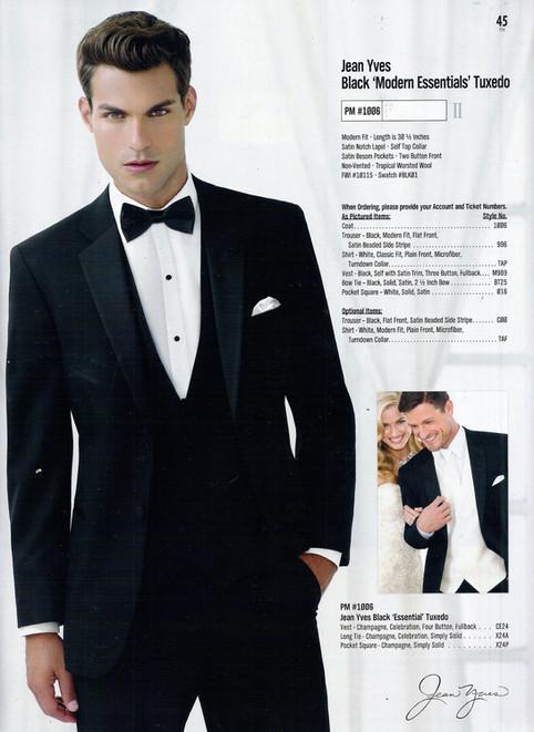 Jean Yves Black 'Modern Essentials' Tuxedo