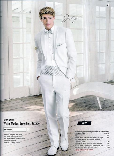 White 'Modern Essentials' Tuxedo PM #1022