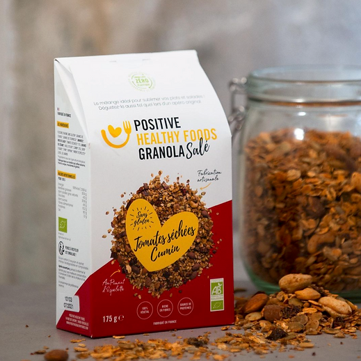 Granola_Positive Healthy Foods - Tomate