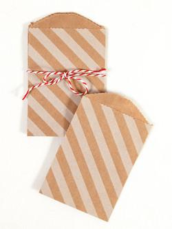 Striped Envelopes