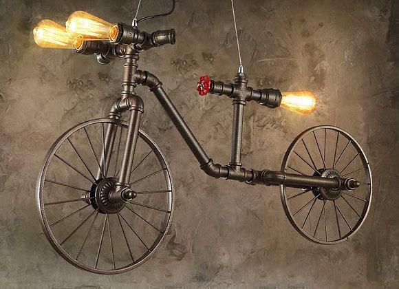 خمر آرت ديكو دراجات الحديد الثريا مصباح قلادة