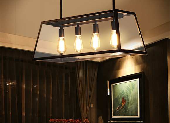 Hot sale modern lighting glass shade chandelier pendant lamp