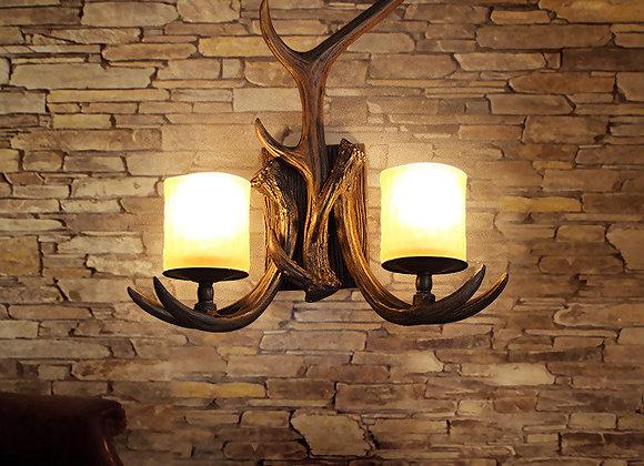 خمر الإضاءة الراتنج قرون الجدار الشمعدانات أضواء مصباح لغرفة النوم