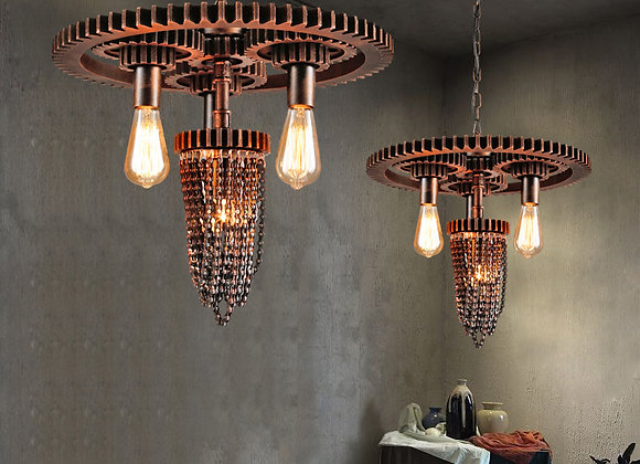 Water pipe lighting vintage led industry style cafe shop decoration