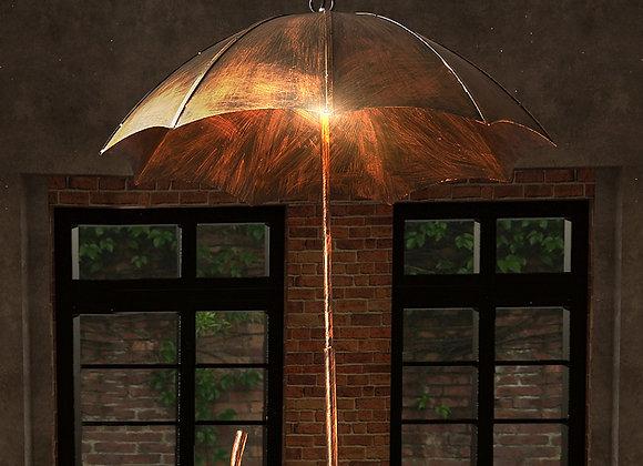 Rusty Umbrella Cover Decorative Chandelier Pendant Light