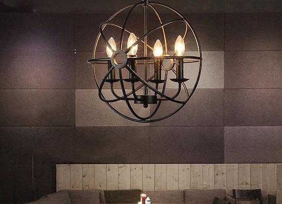 Lampes suspendues LED plafond globe bougie lustre lumière