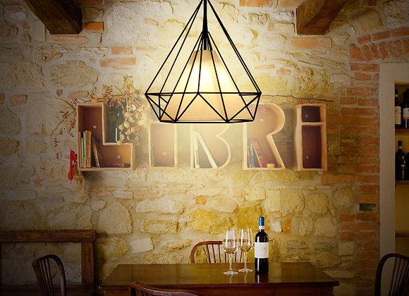 Nordic hanging lamps led linear kitchen pendant light