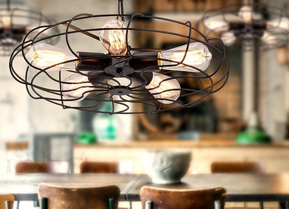 أدى مطعم سقف الإضاءة خمر مطعم مع مأخذ المصباح الكهربائي