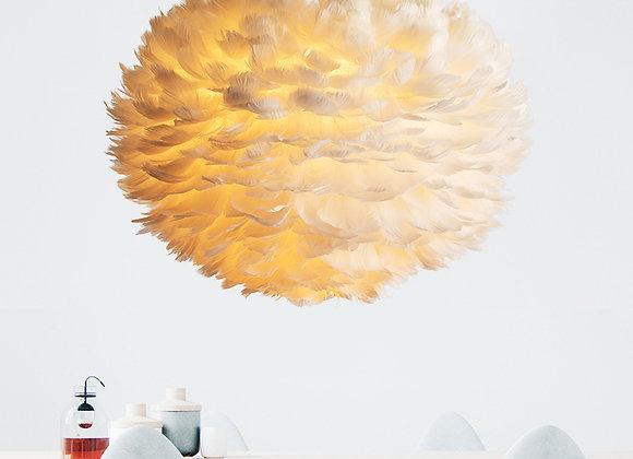 أفكار ريشة مصباح الفاخرة الحديثة غرفة الطعام إضاءة الثريا الكبيرة