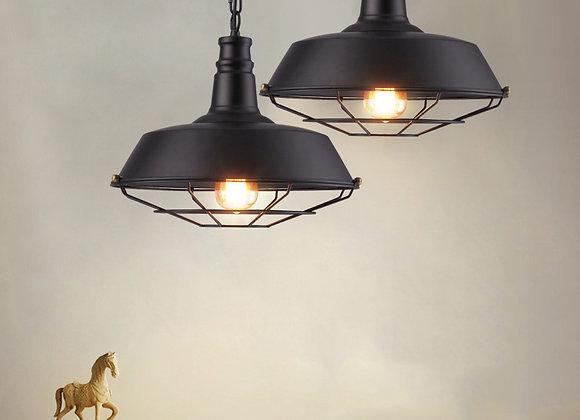 الإضاءة الصناعية الرجعية المعلقة علوي مصباح قلادة معدنية
