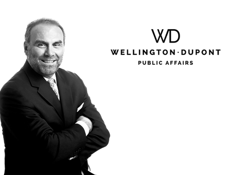 WELLINGTON DUPONT STRENGTHENS NORTH AMERICAN TEAM, ADDS PAUL DININO ADVISING ON U.S. RELATIONS