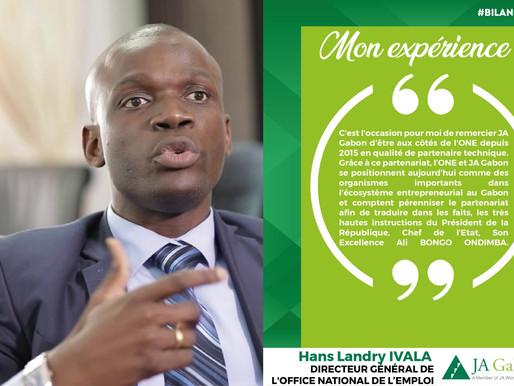 Mon Expérience : Hans Landry IVALA - DG de l'One