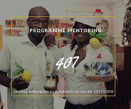 Chiffre du Jour: Programme Mentoring
