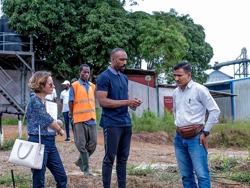 Partenariat JA Gabon/SOTRADER