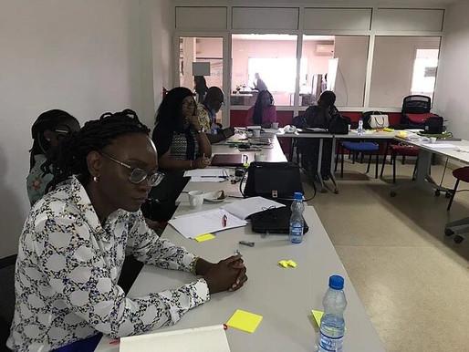 Séance de coaching du comité de direction de JA Gabon
