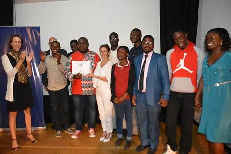 JA Gabon a remporté le 1er Prix de la Coop'Innov.