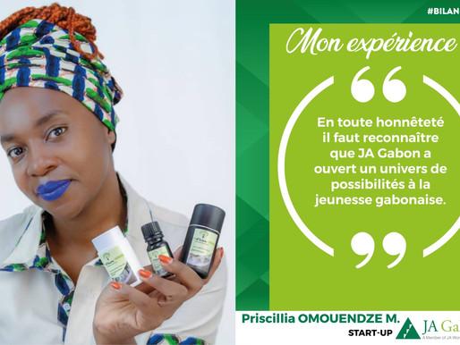 Mon expérience : Priscillia OMOUENDZE M. - Start-up