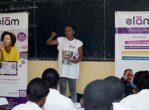 Focus sur les startups incubées à JA Gabon: Laurain Hugues ESSONO NGOUA