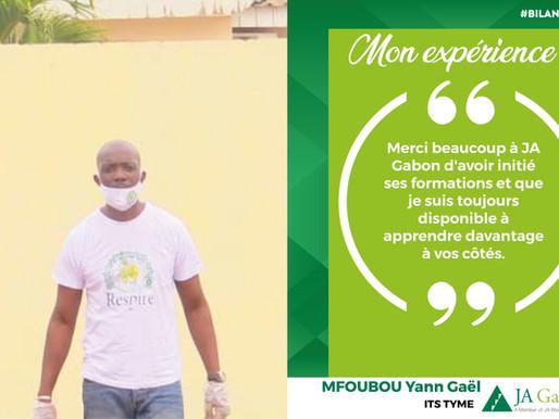 Mon expérience : MFOUBOU Yann Gaël -ITS TYME