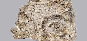 Fragment of a Wall Mosaic 6th century. S