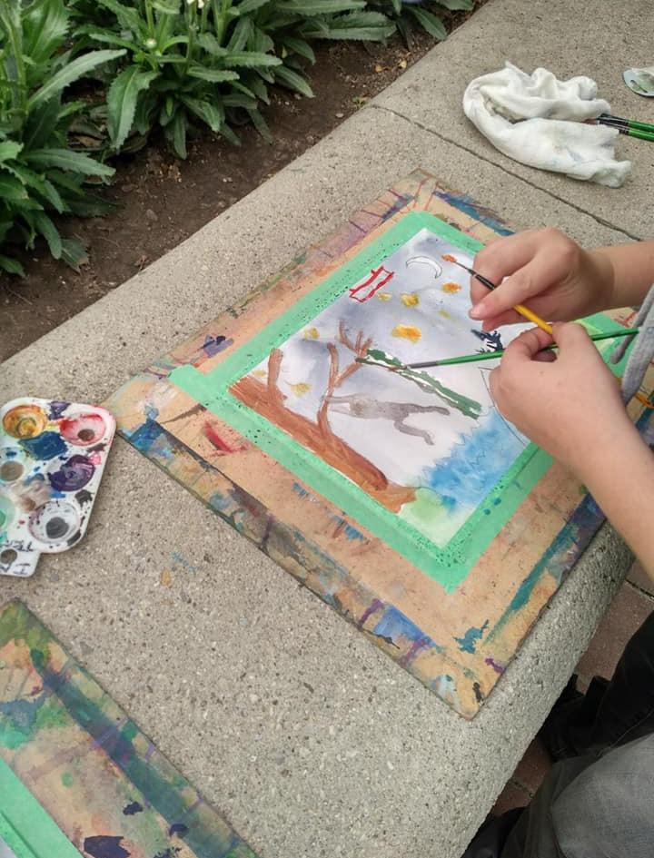 Landyn's Art Challenge Piece