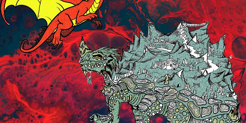 EASTER BREAK: Mixed Media Mythological Creatures