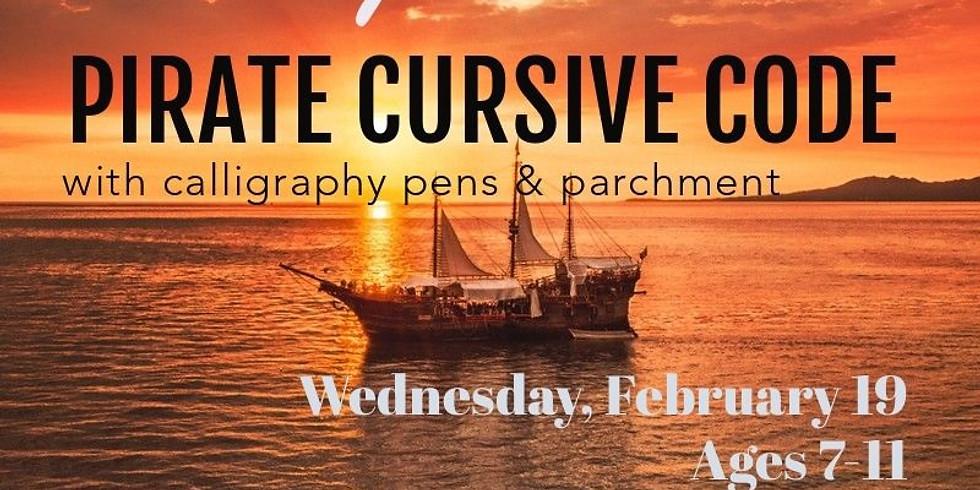 Writing Pirate Cursive Code
