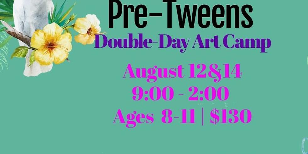 Tropical Pre-Tweens Art Camp