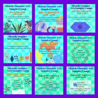 Summer Sampler Projects