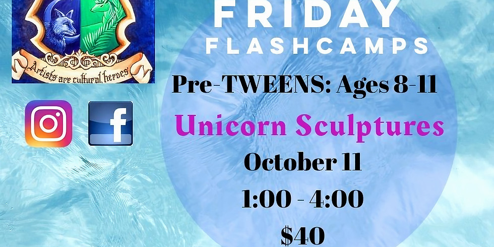 UNICORN Friday FlashCamp: PreTweens!