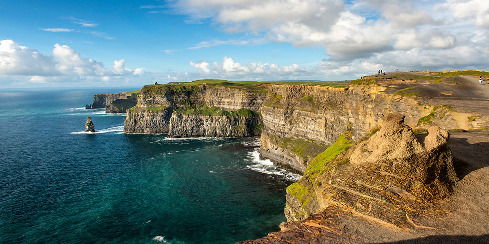 Find Your Irish Side_on the Cliffs of Moher, Ireland