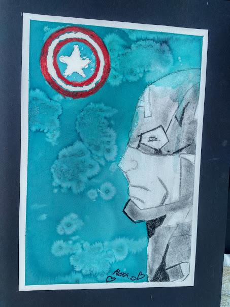 Capt.America Portrait