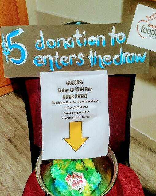 Donations to enter the Draw