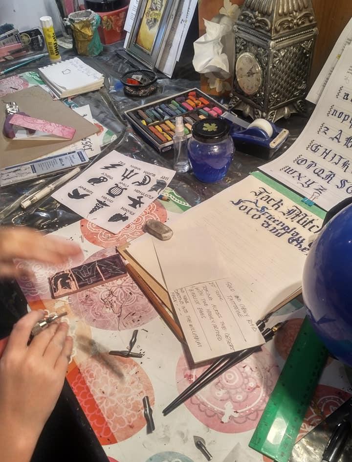 Printmaking Stamps!