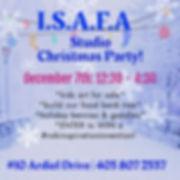 2019 ISAFA Christmas Party!