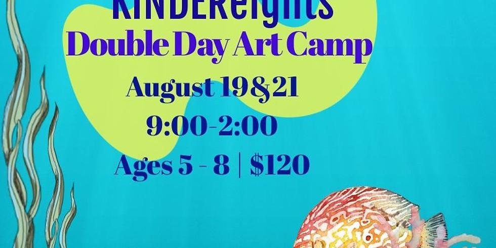 Under the Sea KINDEReights  DoubleDay Art Camp!