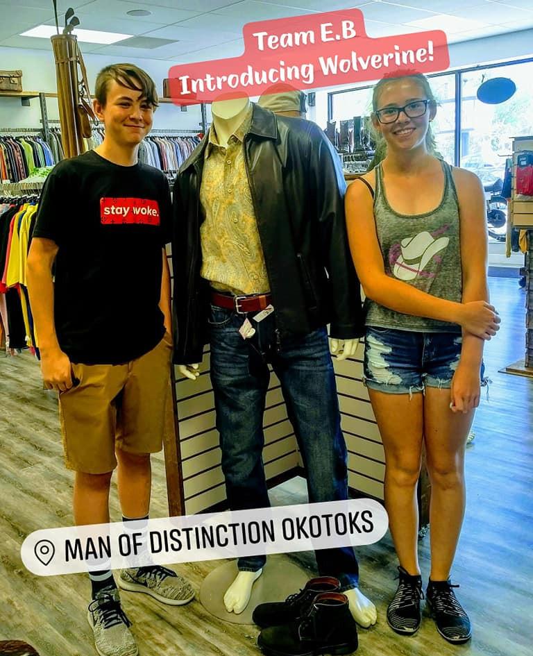 Field Trip to Man of Distinction ~Brody/Emily