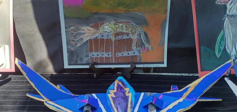 Brody's Ravager Ship & Greek God Portrait