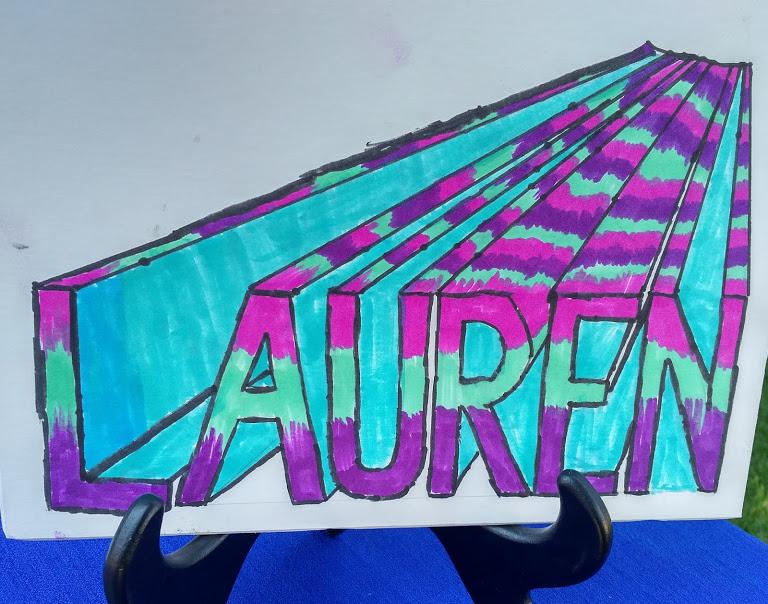 Lauren Name Illusion