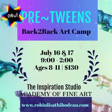 Pre-Tweens Back2Back DblDay Camp