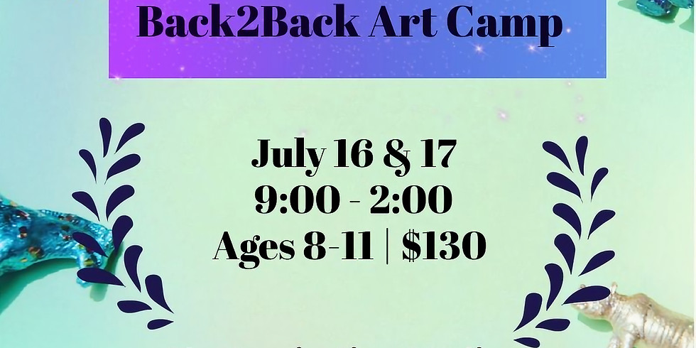 Pre-TWEENS Back2Back Camp