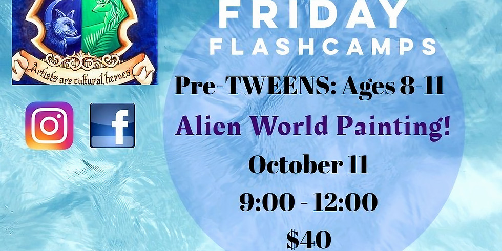 ALIEN Friday FlashCamp!